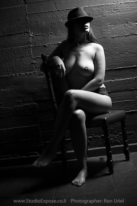 צילום סקסי בעירום לאישה